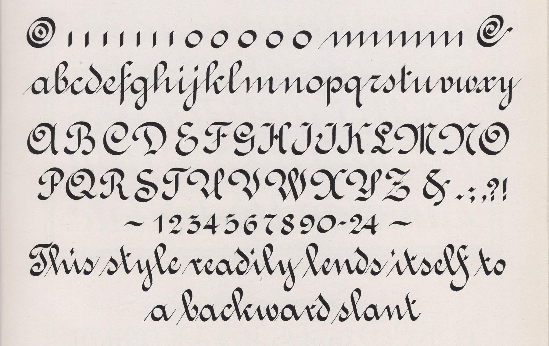 Charles Norder Dreaming in Script French Roundhand