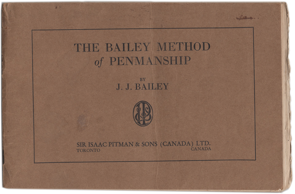 Masgrimes J. J. Bailey Method of Penmanship