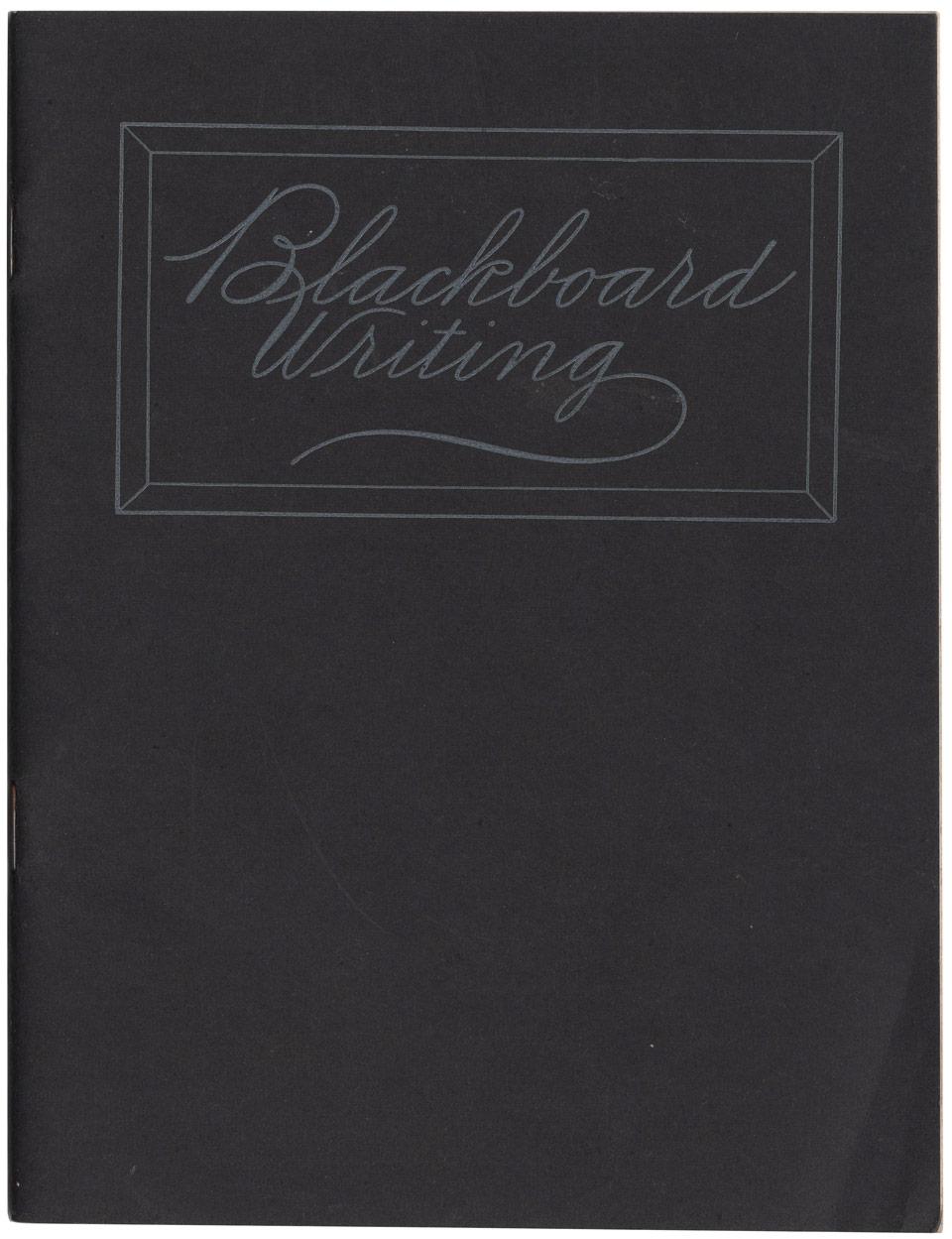 Masgrimes Blackboard Writing - blackboard penmanship