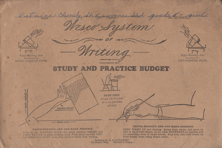 Masgrimes Wesco's System of Writing - Penmanship