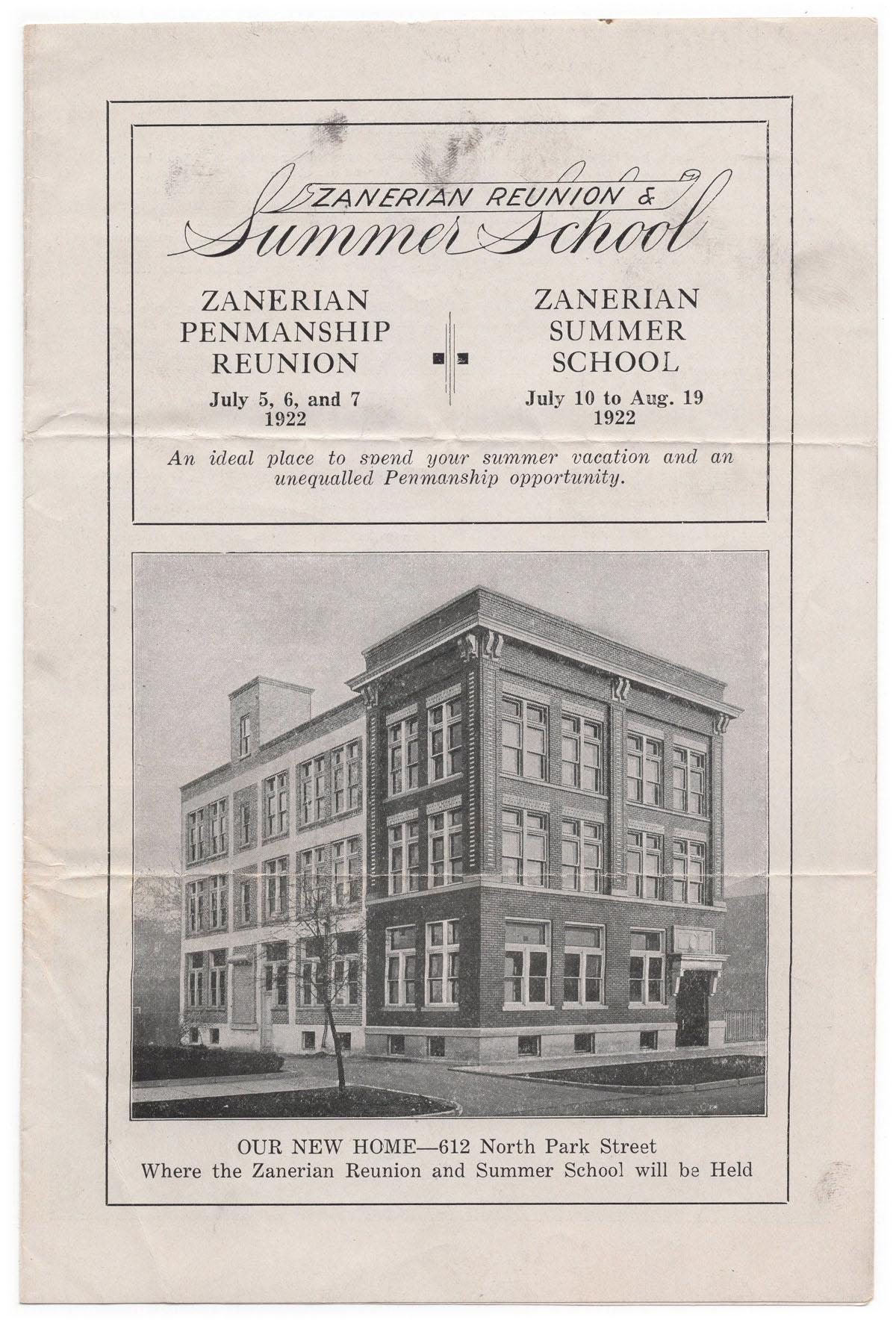 Masgrimes Zanerian Summer School & Reunion, American Penmanship